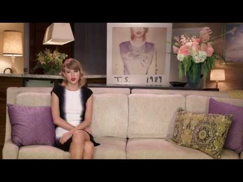 Taylor Swift talks about Welcome to New York