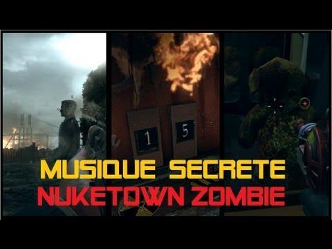 Les 3 musiques secrètes de Nuketown zombie - Hidden song Easter egg