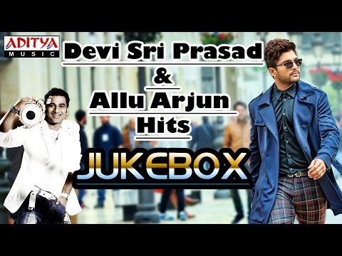 Allu Arjun & Devi Sri Prasad Hit Songs    S o Satyamurthy Movie Special video
