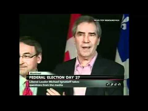 Michael Ignatieff - Why do you think you'll form government - worst answer ever