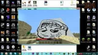 Come Mettere Immagini su Minecraft-Pixel art Tutorial ITA|HD
