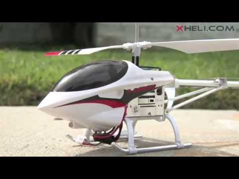 Skylark 3 Channel Full Aluminum Alloy Helicopter with Built in Gyro