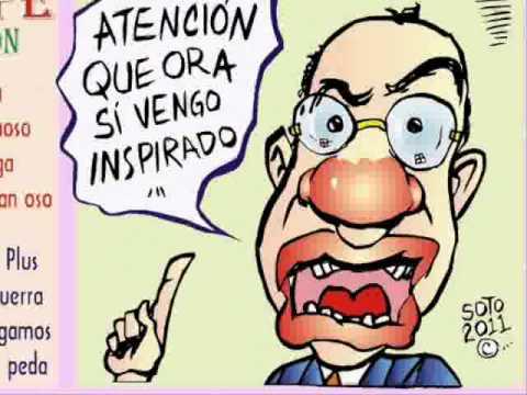 El Fua de Calderon Calaveras borrachas versos caricatura politica