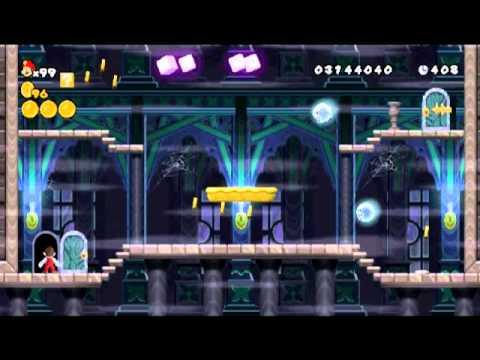 Super Mario Bros Ghost House New Super Mario Bros Wii