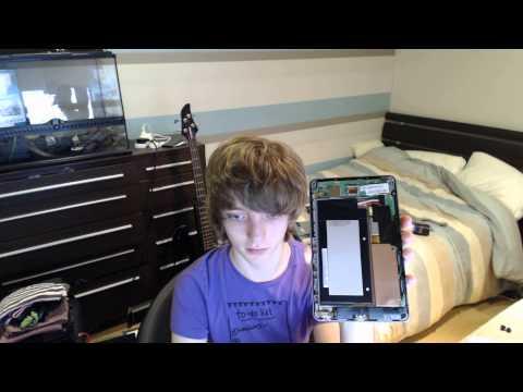 Loose battery in the Nexus 7 Fix!