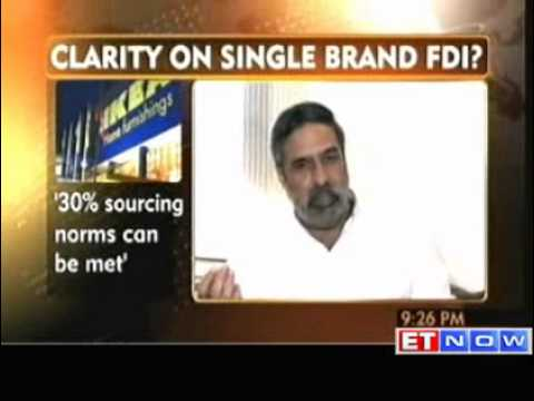 Will clarify on FDI in single brand retail if needed: Anand Sharma