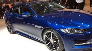 Jaguar XE: first look at Paris Auto Show