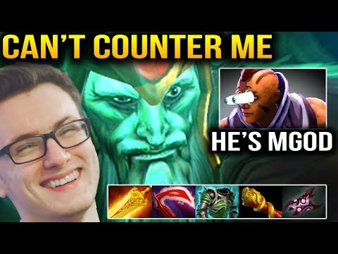 Miracle- - You Pick Antimage to Counter M-GOD Wraith King??? Dota 2