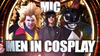 "Men In Cosplay, Will Smith ""Men In Black"" Anime Cosplay Parody Music Video, Anime Matsuri 2013!"
