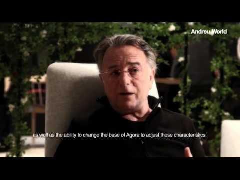 Alberto Lievore presenting the new Agora Collection