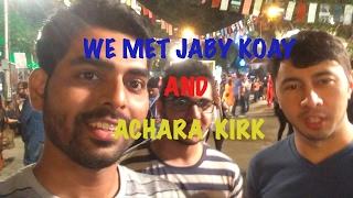 The Day we met Jaby Koay and Achara Kirk | Vlog #1|