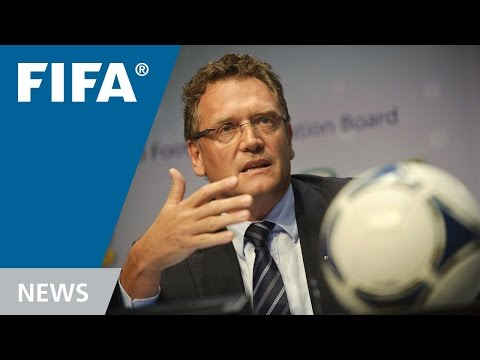 REPLAY: Post-IFAB Press Conference (2012)