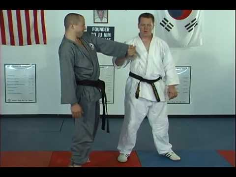 Hapkido Side Grab Techniques 1 Thru 4, Ji Han Jae Image 1