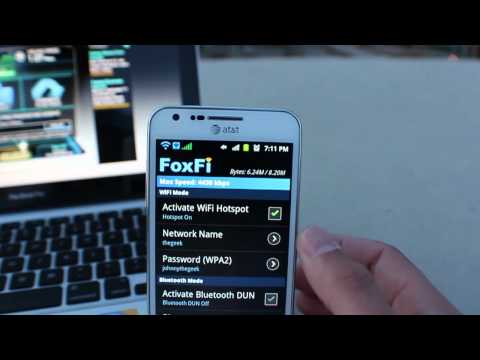 FoxFi - Free Wifi Tethering - No Root Needed