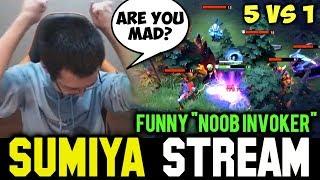 SUMIYA Funny 1v5 Escape & Fail Plays | Sumiya Invoker Stream Moment #330