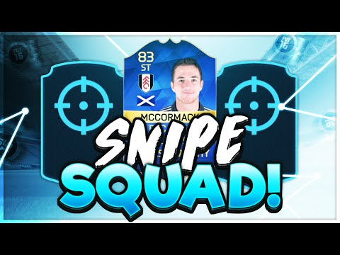 FIFA 16 | SNIPE SQUADS vs AJ3 | HEAD TO HEAD SQUAD BUILDER SNIPING SERIES | FT. TOTS MCCORMACK