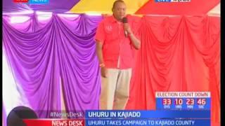 Uhuru addresses Kajiado residents