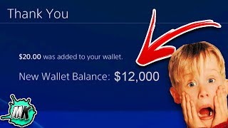 Guy Gets Unlimited PSN Codes For Free And Heres How **MUST SEE**