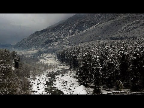 Beas River after Snowfall, Manali