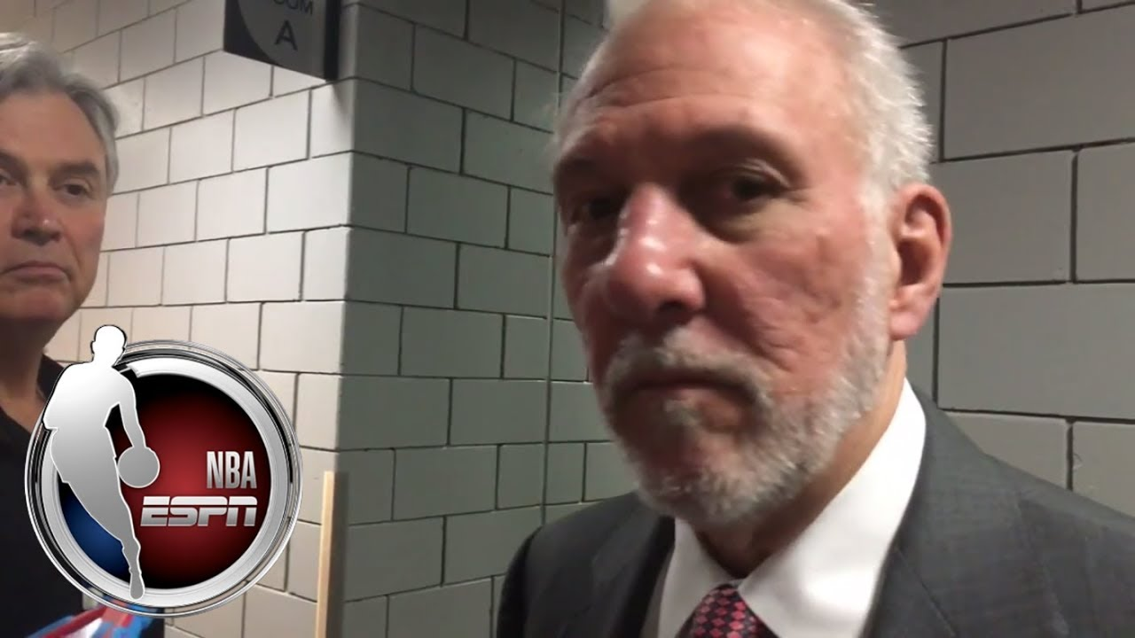 Spurs react to Kawhi Leonard's shoulder injury   ESPN