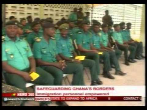 News360 - Immigration personnel empowered in Ghana - 9/2/2016