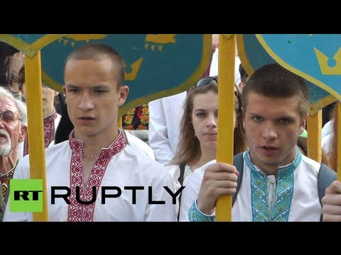 Neo-Nazi march video: Lvov stages rally to commemorate Ukrainian Waffen SS division