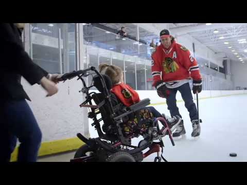 Duncan Keith Makes A Young Girl's Dream Come True