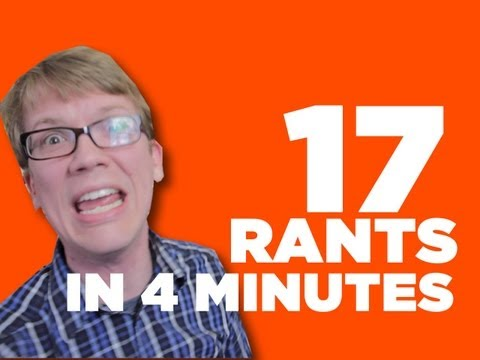 17 Rants In 4 Minutes video