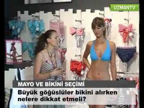 Büyük göğüslü kadınlar bikini alırken nelere dikkat etmeli