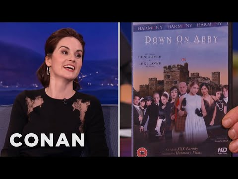 Michelle Dockery On downton Abbey's Porn Parody video