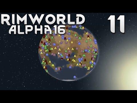 Прохождение RimWorld Alpha 16 EXTREME: #11 - ДИВЕРСИЯ!