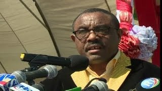 EBC :- Prime Minister Hailemariam Desalegn delivered a speech on the celebration of nation and natio