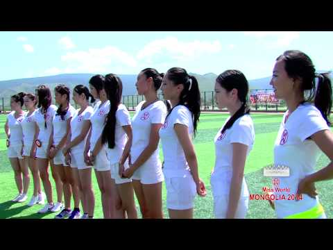 MNCTV Miss world mongolia 2014 Sport