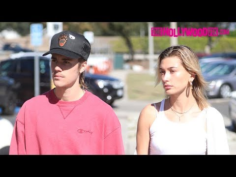 Justin Bieber Hilariously Yells At Paps To Get Away From His Car At Breakfast With Hailey Baldwin