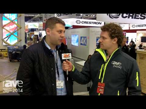 ISE 2014: Russ Speaks with Crestron