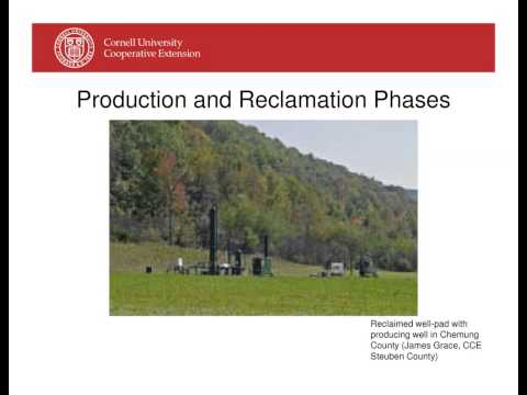 Introduction to Marcellus Shale Natural Gas Development