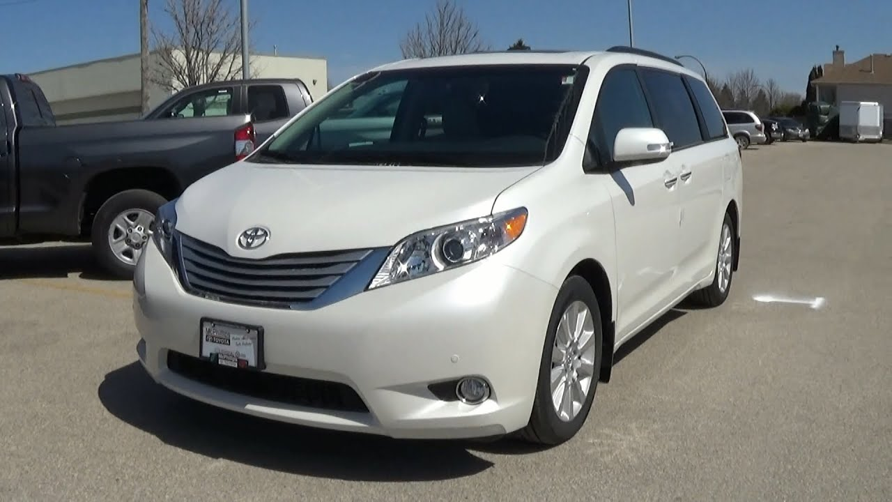 Beautiful 2014 Toyota Sienna Limited Full Review Start Up And Walkaround