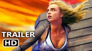 VALERIAN Official Trailer Tease (2017) Cara Delevingne, Rihanna Sci Fi Movie HD