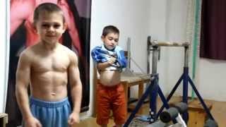 Kids training rutine