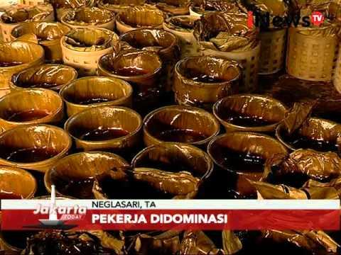 Tempat pembuatan kue keranjang makanan khas Tionghoa di Neglasari, Tangerang - Jakarta Today 08/02