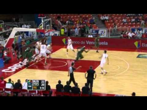 Lithuania Vs. Nigeria / 2012 FIBA Olympic Qualifying Tournament