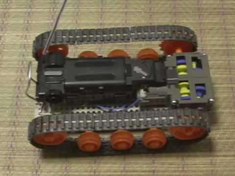 エアロRC キャタピラ改造 エアロRC キャタピラ改造 タミヤタンク工作基本セット