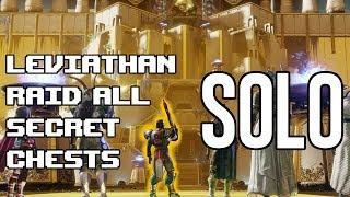 Destiny 2 Leviathan Raid SOLO Exploration Walkthrough & All 9 Exotic Chests Location Guide