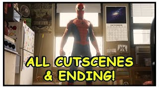 Spider-Man PS4: All Cutscenes & Ending (Cinematic Scenes LIKE A MOVIE)