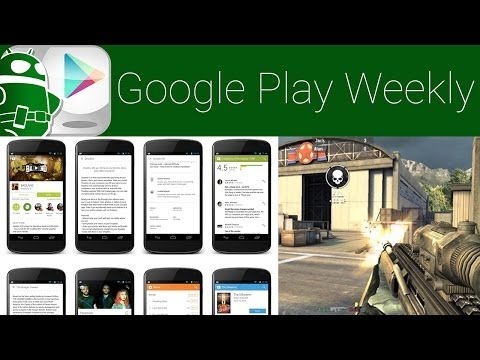 Modern Combat 5 released, Walking Dead game trailer, Play Store updated! - Google Play Weekly