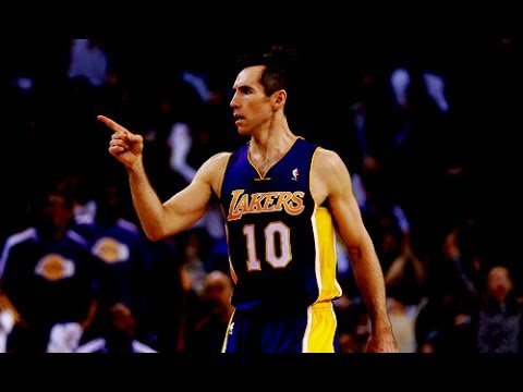 Steve Nash Lakers NBA 2013 Mix - Till I Collapse [HD]