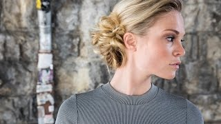 DOBI Hair Tutorial - Twisted Updo by Martin Dürrenmatt