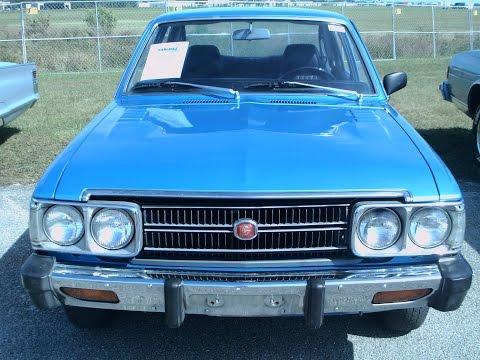 1976 Toyota Corona Four Door Sedan Blu LakelandLinder111116