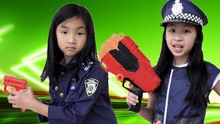 Pretend Play How to be a Real Police Officer