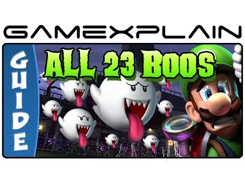 All 23 Boo Locations in Luigi's Mansion 2: Dark Moon